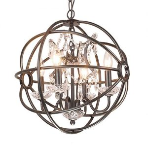 Trend Jojospring Benita Antique Light Orb Crystal Chandelier