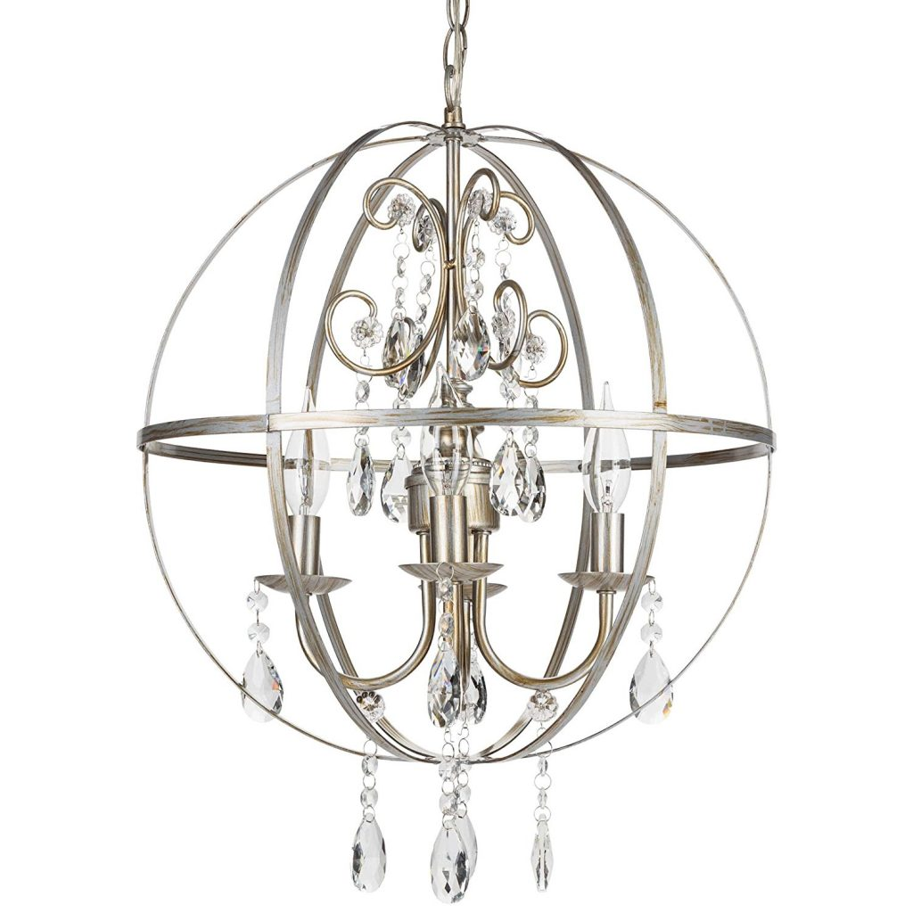 Compact Dining Room Chandelier