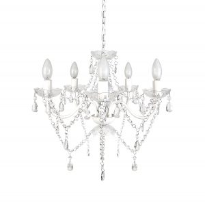 tadpoles five bulb chandelier