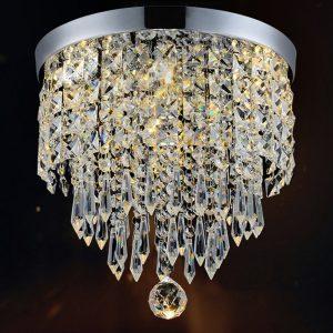 Hile Lighting Modern Chandelier Crystal Ball Fixture Pendant Ceiling Lamp, 1 Light