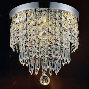 Hile Lighting Modern Chandelier Crystal Ball Fixture Pendant Ceiling Lamp, 1 Light