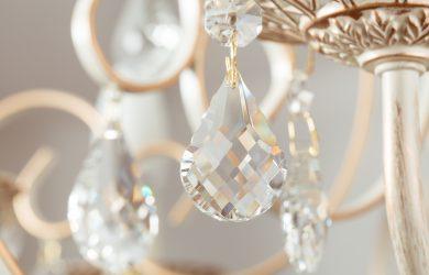 clean chandelier