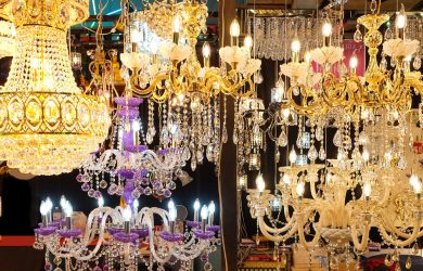 Various Beautiful Chandeliers