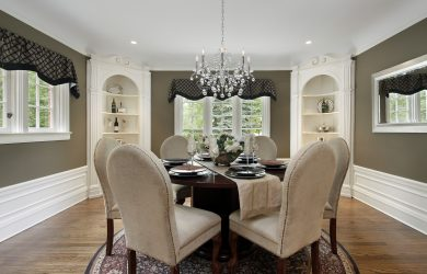 dining table chandelier